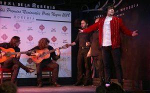 Jesús Carmona en plena actuación